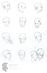 Expression Sheet - Ian