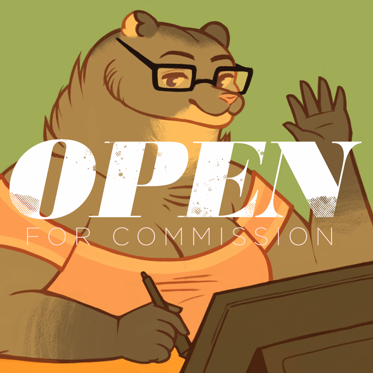 Featured image: Open for commission!