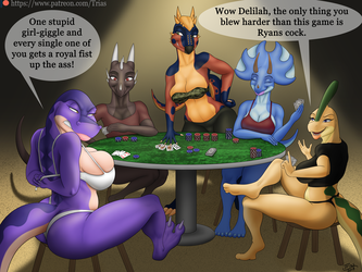 Strip Poker Evening