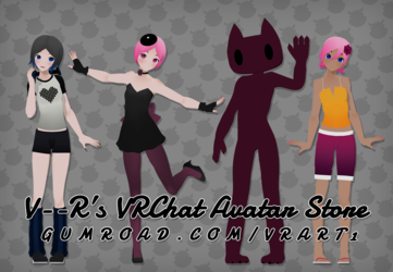 VRChat Avatar Store Now Open!