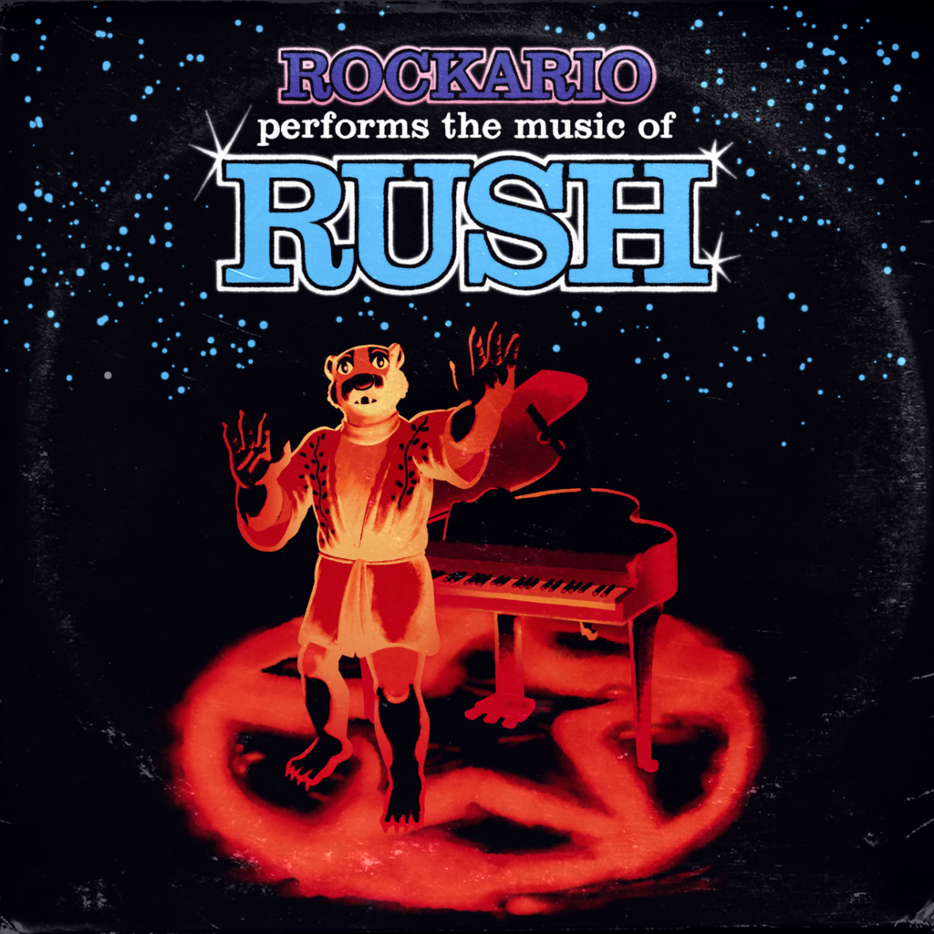 [LP sleeve commission] Rockario Performs the Music of Rush