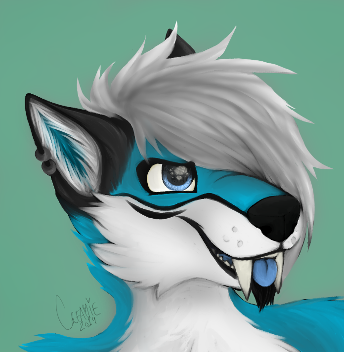 Icon commisson for KenkoSaberWolf