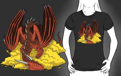Dragon treasure tee
