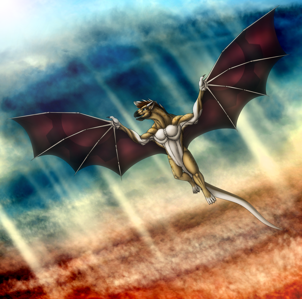 Iron Artist: Day 73 - Hyusky Dragon