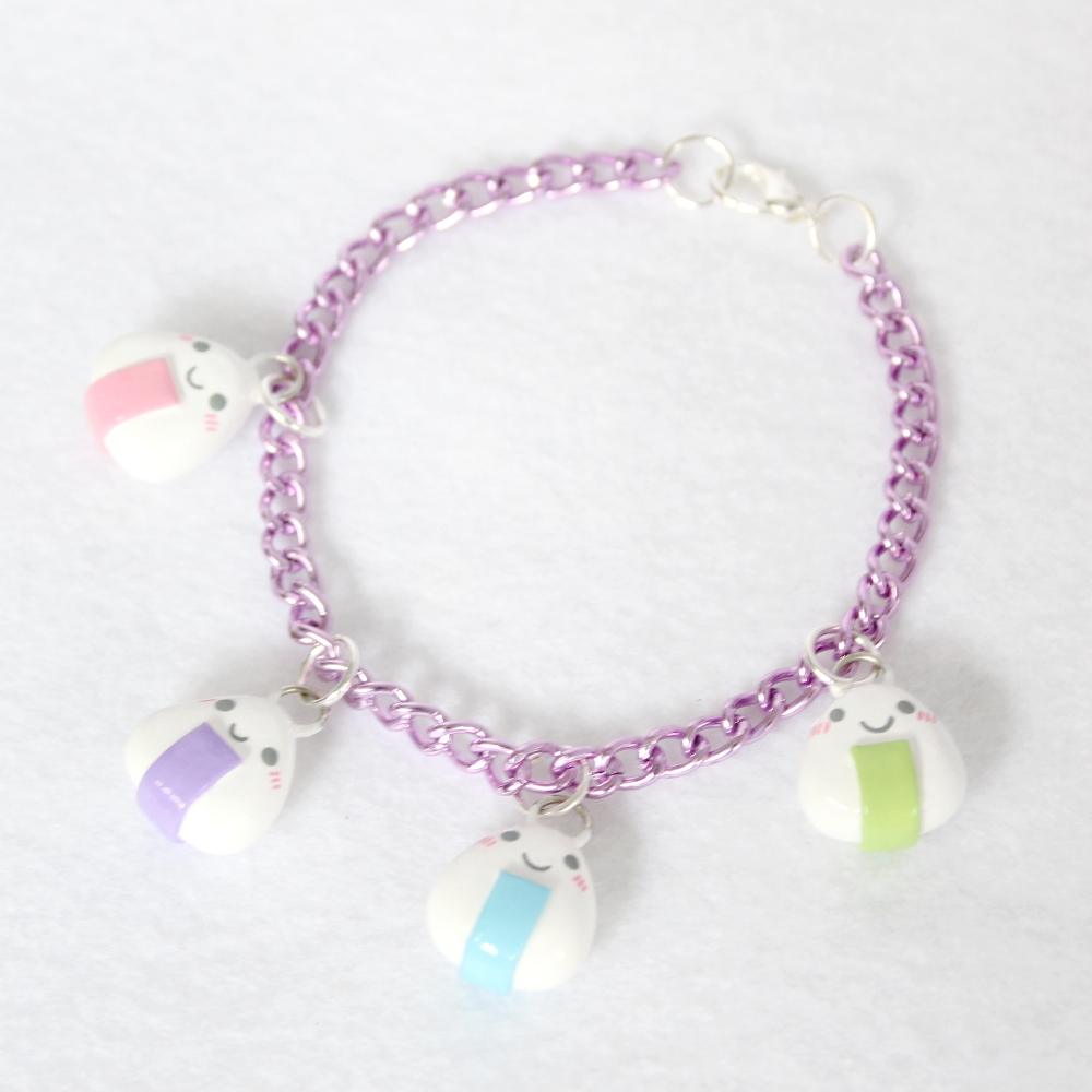 Most recent image: Kawaii Pastel Onigiri Bracelet