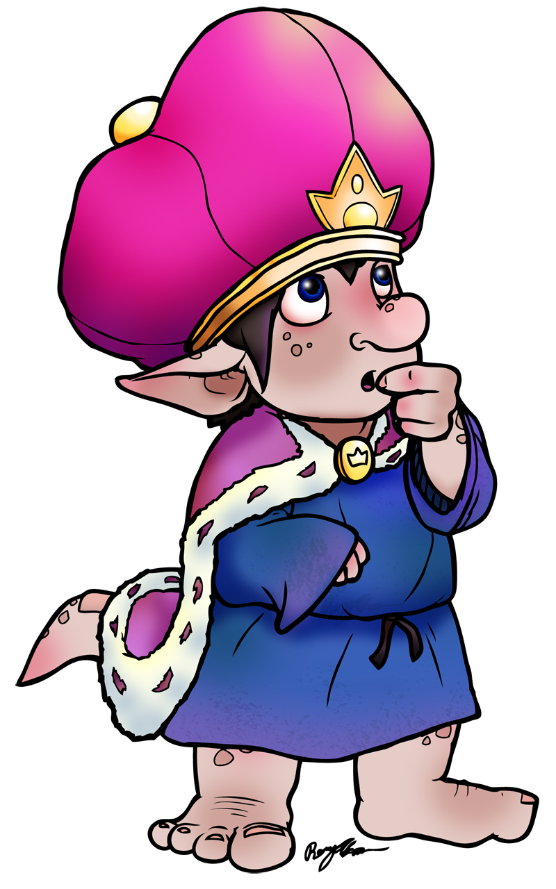 The Little Troll Prince