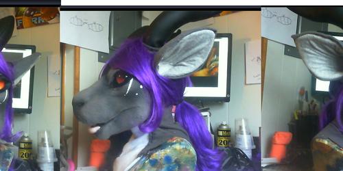 Deez dragon/kangaroo head