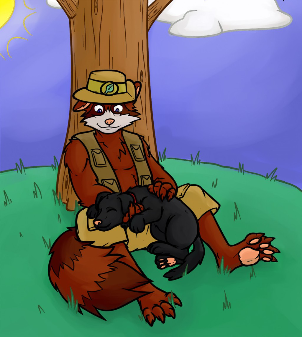 """Gift: """"Just a Nuki and His Pet..."""""""