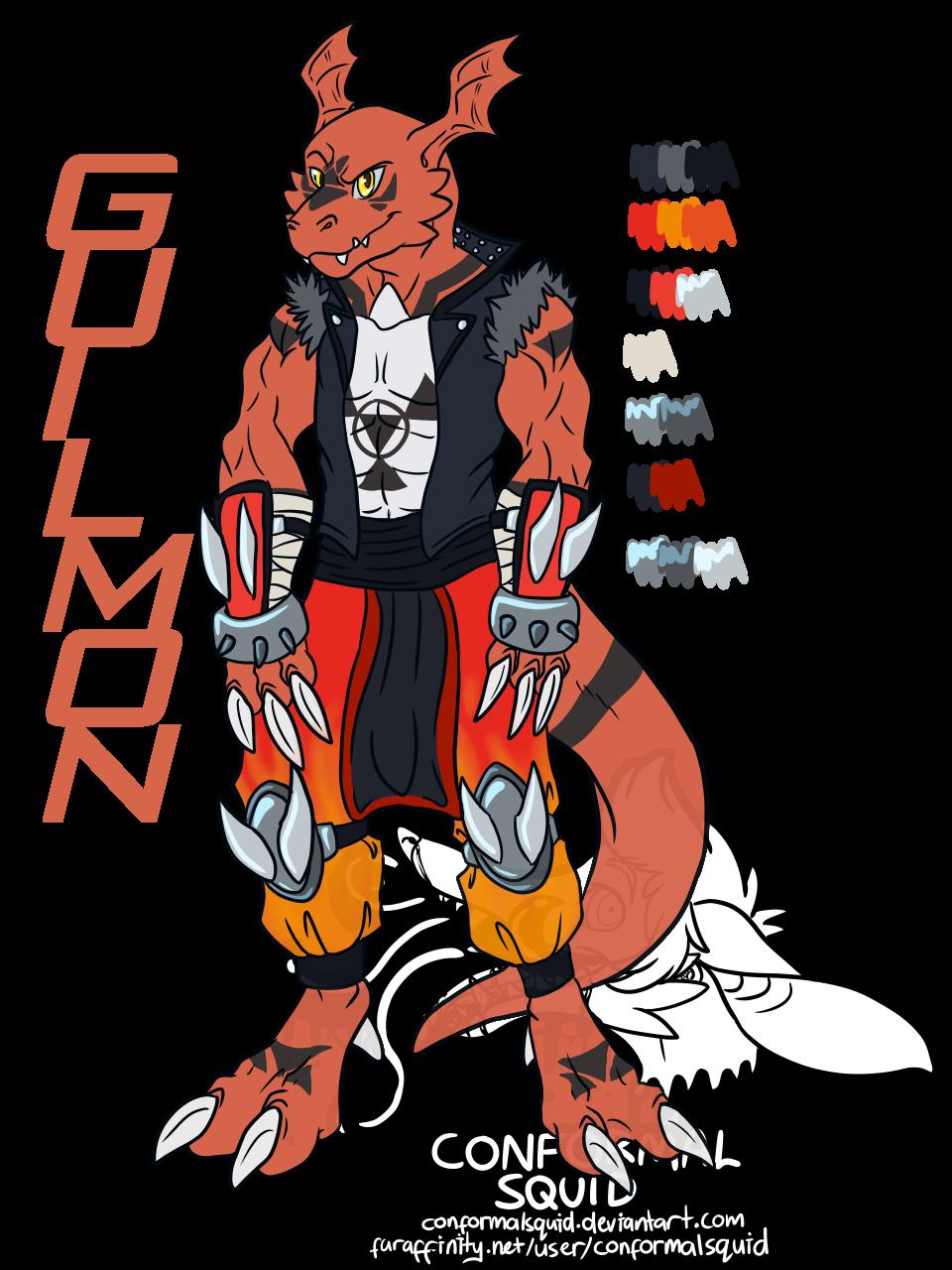DT2- Guilmon concept