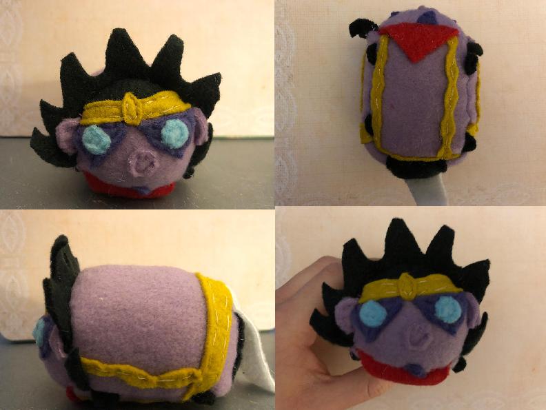 Jojo's Bizarre Adventure Star Platinum Stacking Tsum Plush Gift for stonebandit