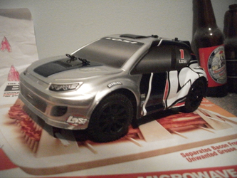 Losi 1/24th scale rally car (front)