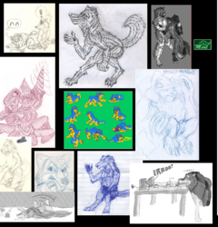 (OLD Doodle Tower) 2002 - 2003 First online Art