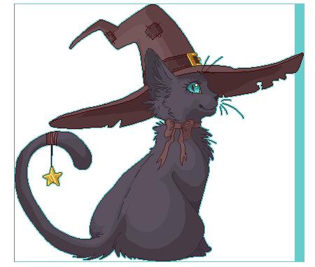 Witch kitten