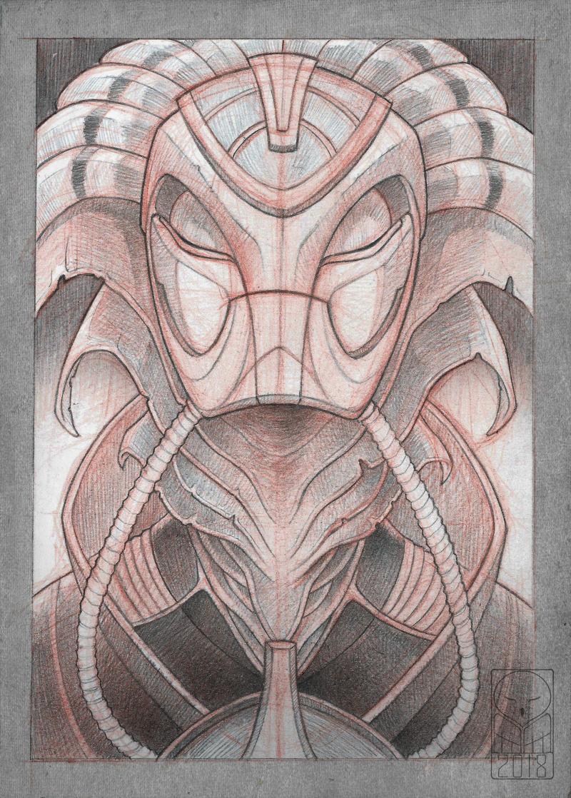 Aquatic alien - sketch