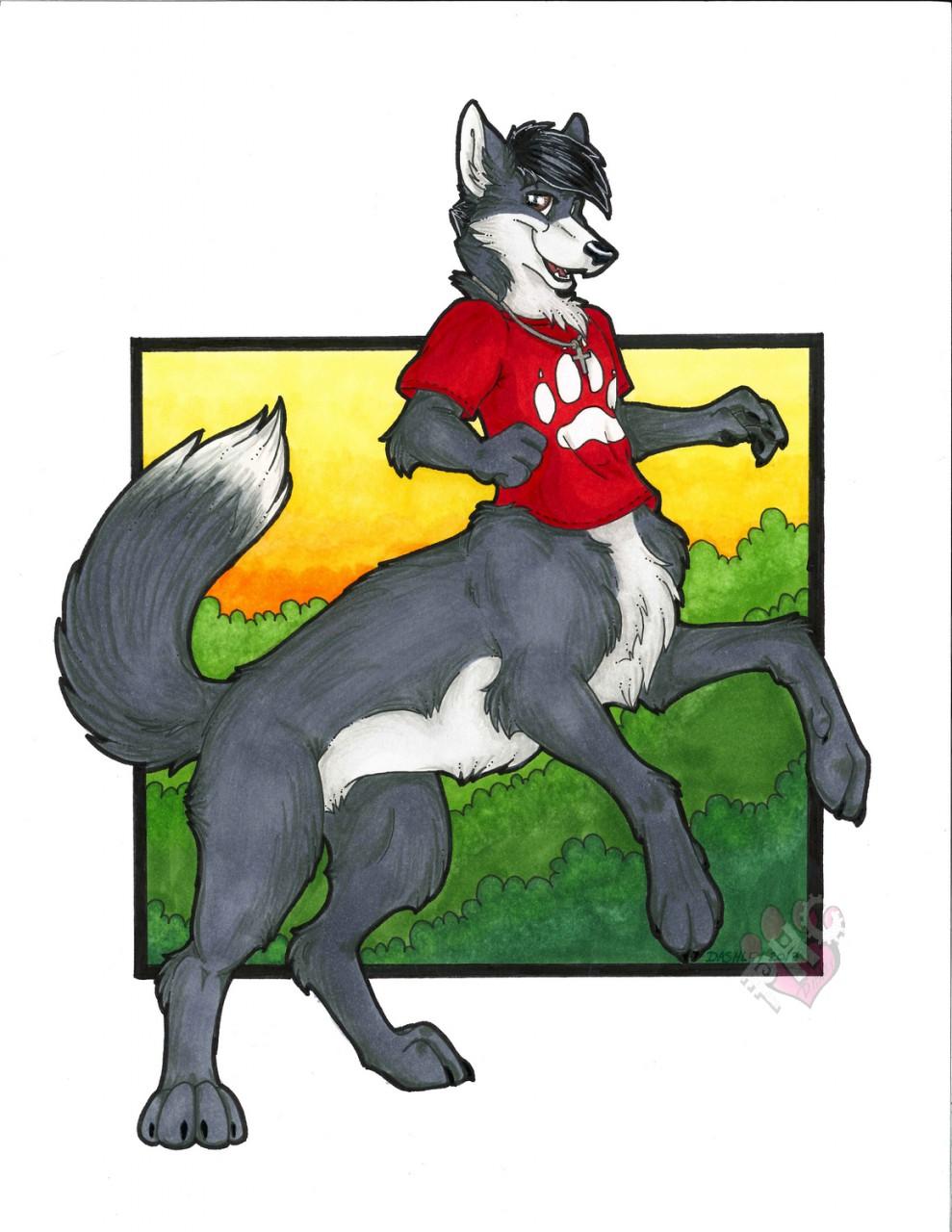 One Majestic Wolftaur