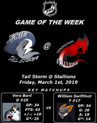 FHL Season 7 Game of the Week #14: Tail Storm @ Stallions
