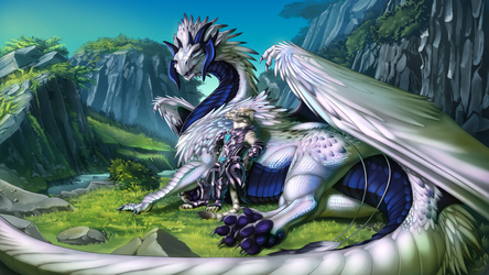 Kaliyah - Charr and Dragon