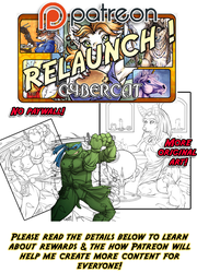 Patreon Relaunch !