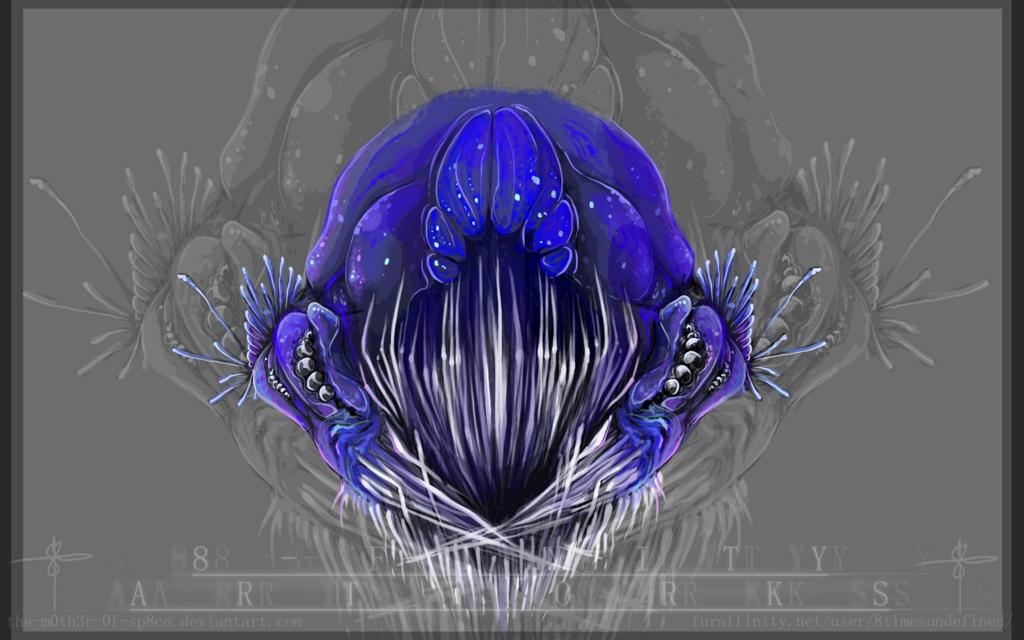Most recent image: Creature Head Design