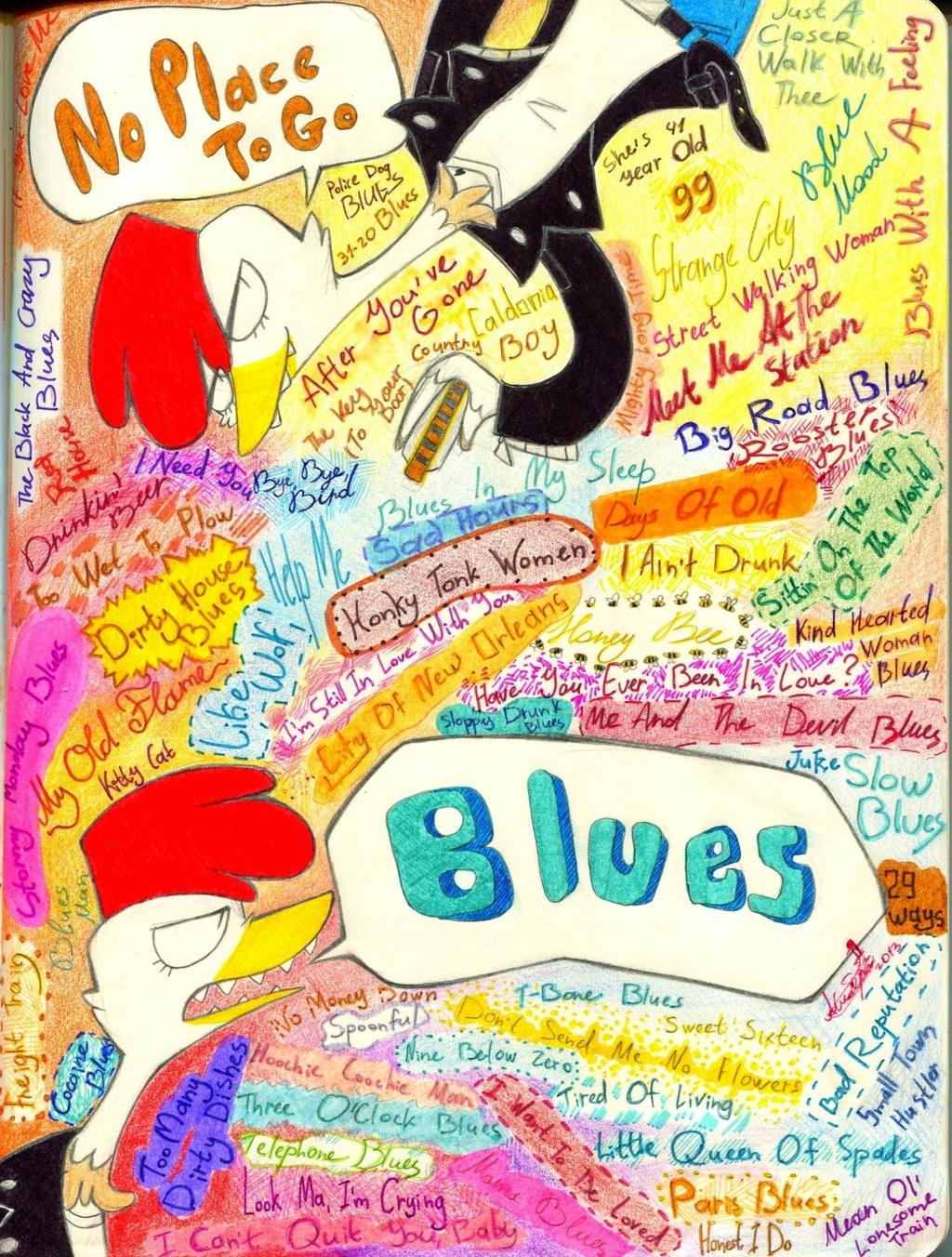 Colorful Blues