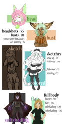 Updated Commission Info