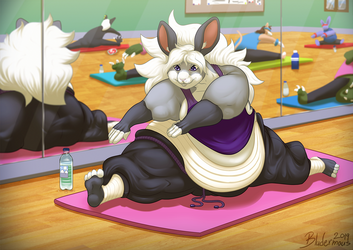 [Commission] - Yoga Bunny