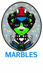 Marbles badge thing i made