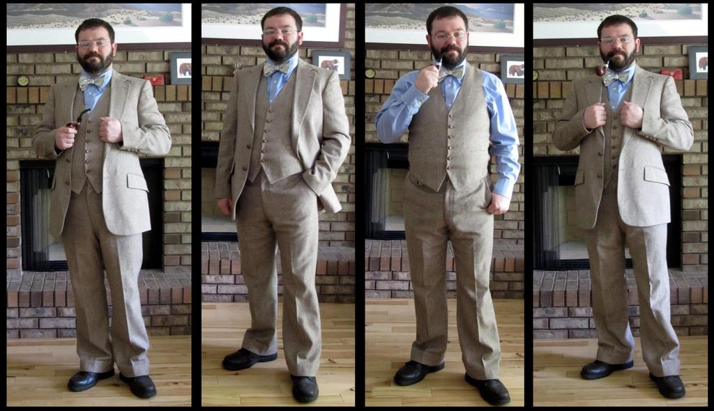 Tweed Suit Set