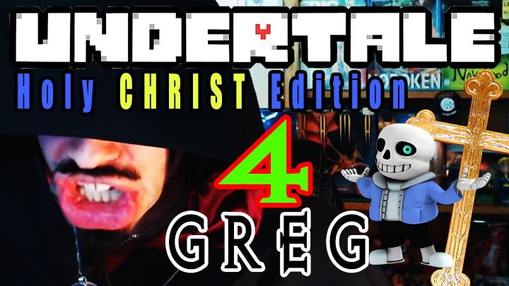 Preacher Greg Undertale Holy Crusade Run Part 4