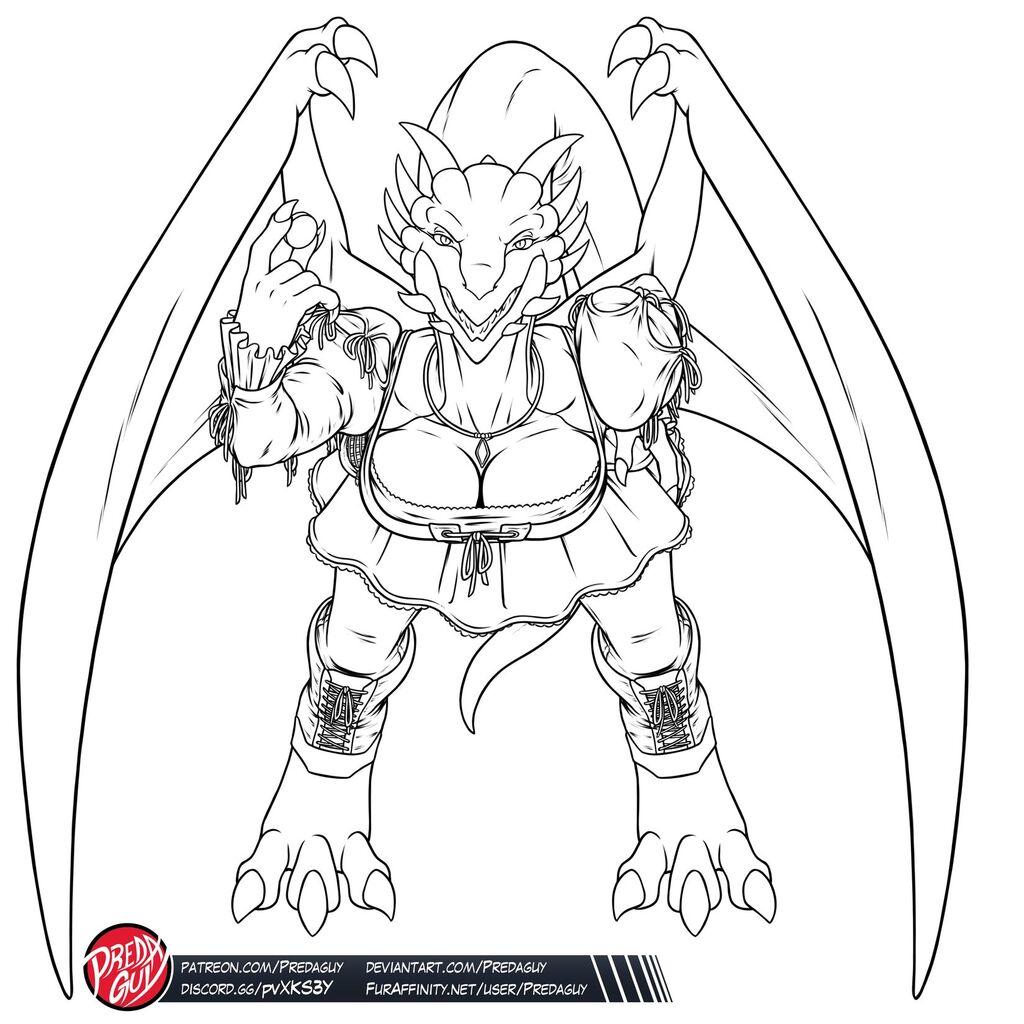 Dragoness Madeleine 02