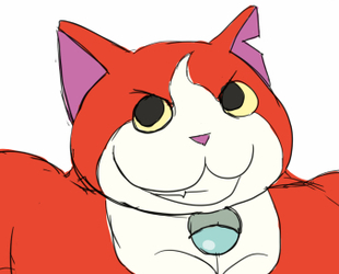 Buff Fantart Friday: Jibanyan
