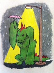 Monsters in the Rain - Tattoo