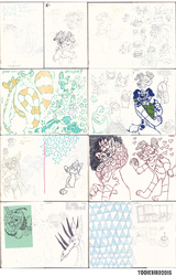 Sketchbook 75 - Part 6
