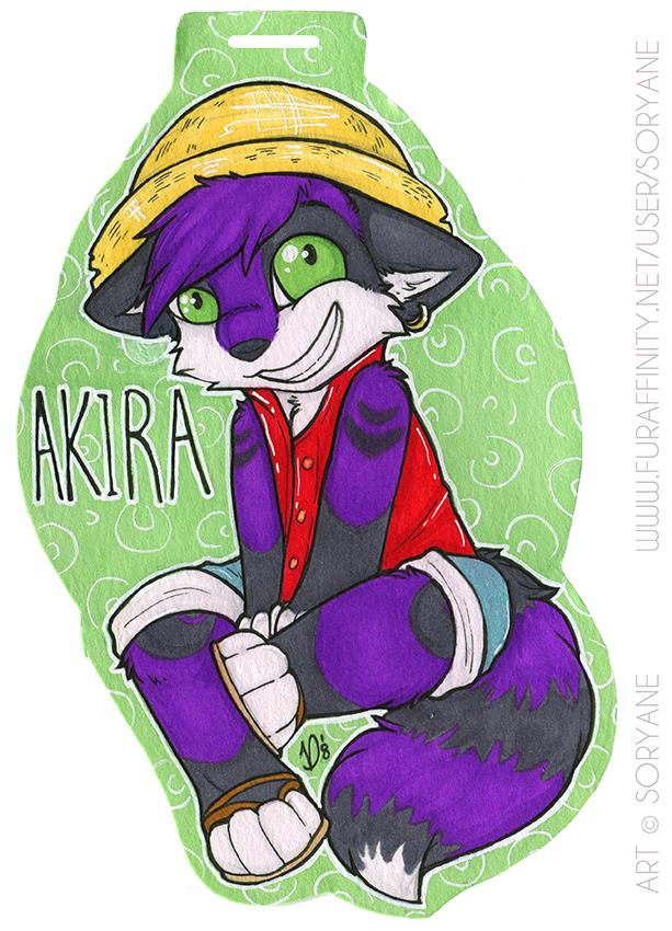 Akira - Luffy Chibi Badge