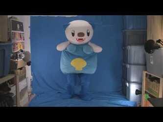 Mascot Fursuiting Video: Oshawott Dance/Showcase