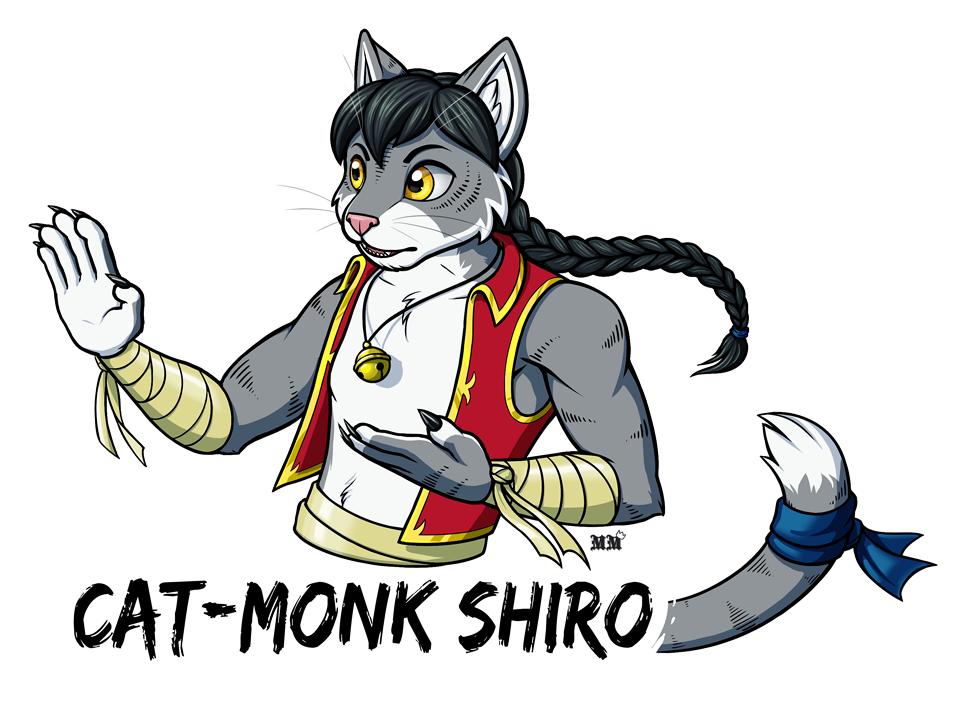 Shiro Large Badge