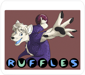Ruffles - Badge