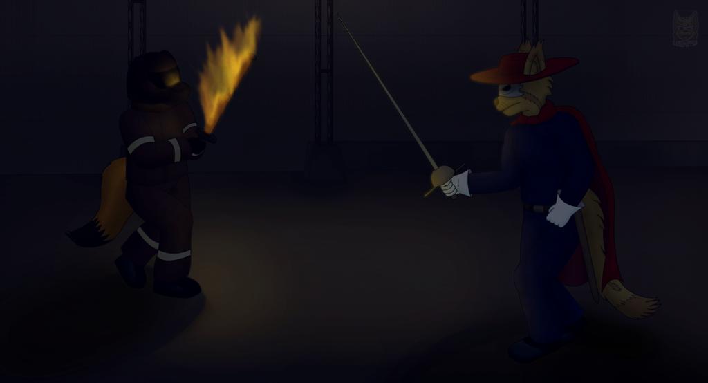Dueling Blaze