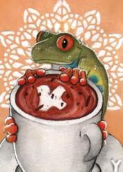 Cocoa Frog I