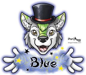 Magician Blue Badge