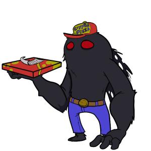 Mothman - Pizza Delivery extroidinaire