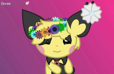 Pichu Flower Crown