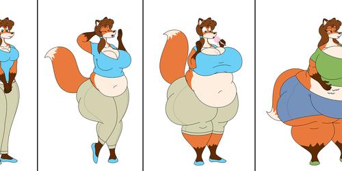 A Fattening Vixen: Part 1