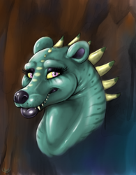 Bear dragon doodle