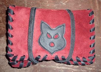 Wolf Tobacco pocket 1/5 ( Furry Art )