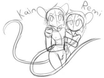 Kain and Remi Sketch 1