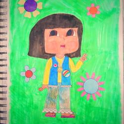Dora does the '60s!