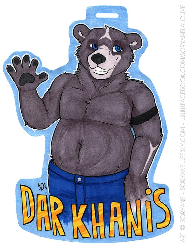 Dar Khanis - Waist Up Badge
