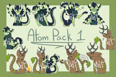 Atom Sticker Pack