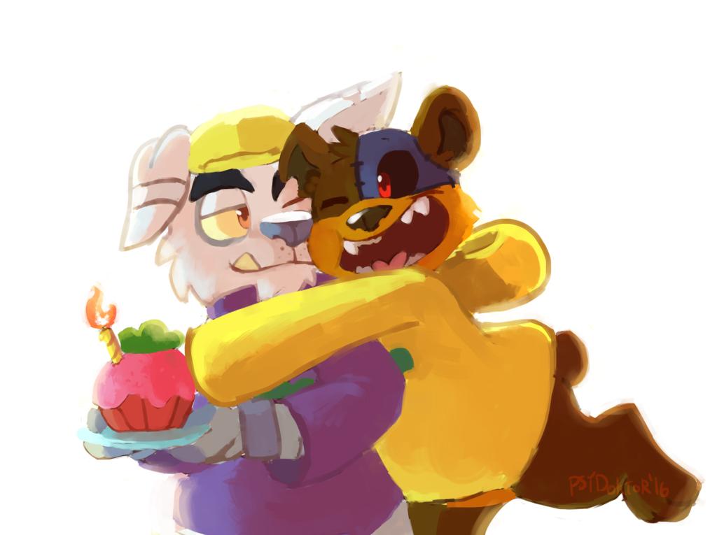 birthday hug!